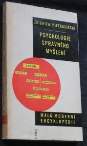 náhled knihy - Psychologie správného myšlení