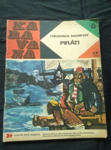 náhled knihy - Piráti (Karavana č. 24 , A4, Obr, 63 s., il. Radomír Kolář )