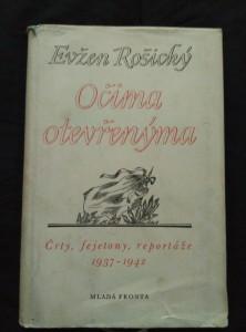náhled knihy - Očima otevřenýma (črty, repo 1937-42)