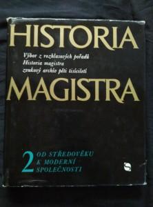 náhled knihy - Historia magistra 2 - Od středověku k modení společnosti (Ocpl, 256 s., ob. M. Fulín)
