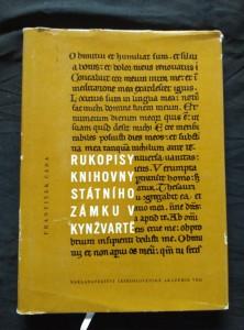 náhled knihy - Rukopisy knihovny státního zámku v Kynžvartě (A4, Ocpl, 212 s., 6 příl.)