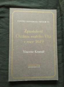 náhled knihy - Zpustošení Chrámu svatého Víta v roce 1619 (A4, Obr, 166 s.)
