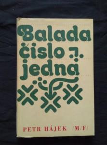 náhled knihy - Balada číslo jedna
