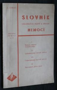 náhled knihy - Slovník lékařských názvů a značek nemocí