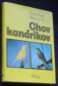 náhled knihy - Chov kanárikov