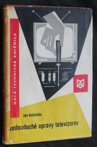 náhled knihy - Jednoduché opravy televízorov