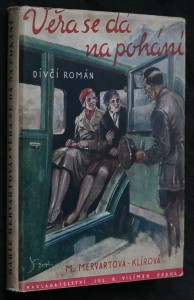 náhled knihy - Věra se dá na pokání : dívčí románek