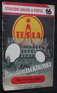 náhled knihy - Stavební návod a popis 16. Miniaturní elektronky