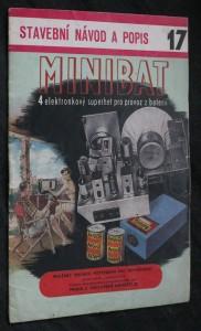 náhled knihy - Stavební návod a popis 17. Minibat