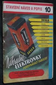 náhled knihy - Stavební návod a popis 10. Náhradní elektronky