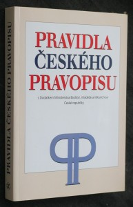 náhled knihy - Pravidla českého pravopisu : s dodatkem Ministerstva školství, mládeže a tělovýchovy České republiky