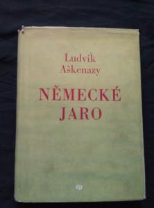 náhled knihy - Německé jaro (Oppl, il. J. Kándl)