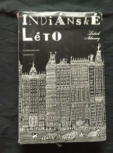 náhled knihy - Indiánské léto (Ocpl, 196 s., ob, vaz a typo Z. Seydl)
