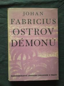 náhled knihy - Otrov démonů (1. vyd., Oppl, 260 s., ob a typo J. Šváb)