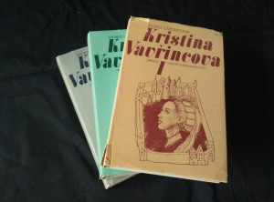 náhled knihy - Kristina Vavřincová I - III (Ocpl,  258, 368, 398 s.)