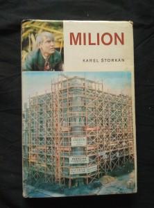 náhled knihy - Milion - zřícený dům Na Poříčí 1928 (Ocpl, 136 s., foto M. Schmiedberger)