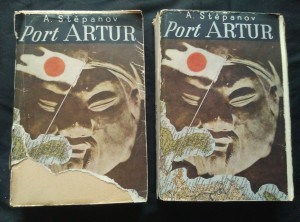 náhled knihy - Port Artur I, II (Obr, 548 a 608  s., ob. V. Tittelbach, 1. vyd.)