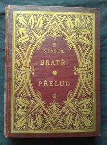 náhled knihy - Bratři/ Přelud (Ocpl, 442 s., ob. zlac.)