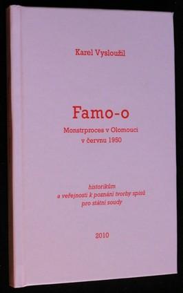 náhled knihy - Famo-o : monstrproces v Olomouci v červnu 1950