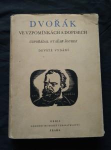 náhled knihy - Dvořák ve vzpomínkách a dopisech (ob. C. Bouda)