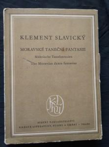 náhled knihy - Moravské taneční fantasie - (Obr, 258s., dedikace autora)