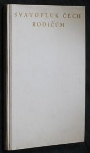 náhled knihy - Svatopluk Čech rodičům