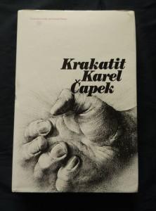 náhled knihy - Krakatit (A4, Ocpl, 320 s., ob, a il. O. Kulhánek)