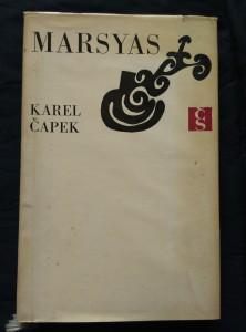 náhled knihy - Marsyas (Ocpl, 188 s., ob, vaz, typo Z. Seydl)