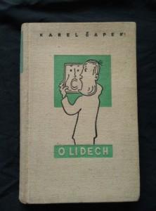 náhled knihy - O lidech (Ocpl, 248 s., il. J. Čapek a C. Bouda)