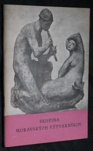 náhled knihy - Skupina moravských výtvarníkov : [Katalóg výstavy] : Bratislava 12. apríl - 3. máj 195