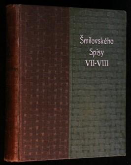 náhled knihy - A. V. Šmilovského Spisy výpravné, svazek VII.