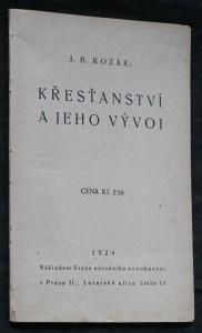 náhled knihy - Křesťanství a jeho vývoj