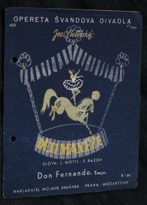 náhled knihy - Don Fernando Rumba fox z operety: Děti manéže