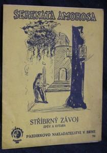 náhled knihy - Stříbrný závoj Serenata amorosa