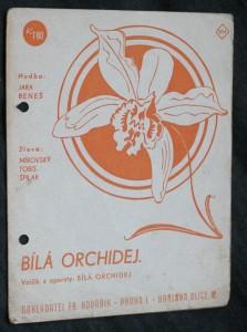 náhled knihy - Bílá orchidej