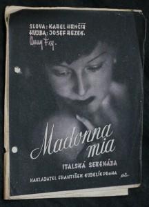 náhled knihy - Madonna mia, italská serenáda