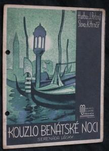 náhled knihy - Kouzlo benátské noci serenáda lásky : op. 93