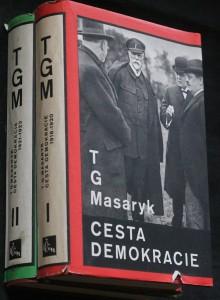 náhled knihy - Cesta demokracie : Soubor projevů za republiky. Svazek první, 1918-1920, 2 svazky