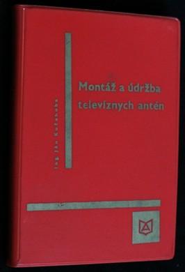 náhled knihy - Montáž a údržba televizních antén