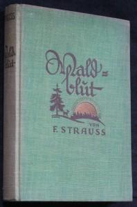 náhled knihy - Waldblut. Ein neuzeitlicher Roman für Mädchen.