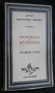 náhled knihy - Universita a učitelstvo : Soubor statí