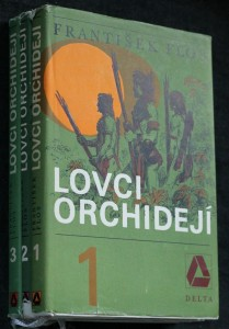 náhled knihy - Lovci orchidejí. 1.-3. díl