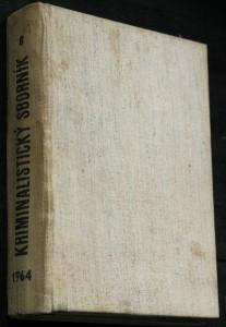 náhled knihy - Kriminalistický sborník 1.-12. číslo (chybí 1, 7, 10.)