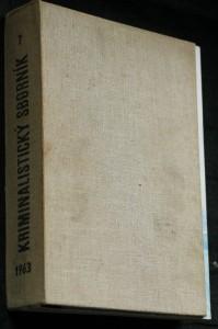 náhled knihy - Kriminalistický sborník 1.-12. číslo (chybí 1, 2, 9, 12.)