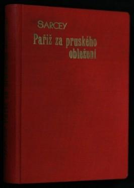 náhled knihy - Paříž za pruského obležení
