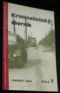 náhled knihy - Kriminalistický sborník, č. 7.