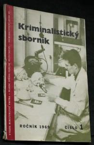 náhled knihy - Kriminalistický sborník, č. 1.