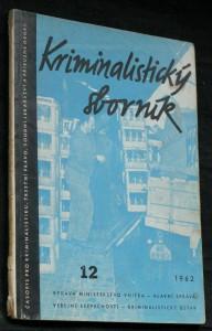 náhled knihy - Kriminalistický sborník, č. 12.