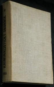 náhled knihy - Kriminalistický sborník 1.-12. číslo (chybí 1, 3, 10, 12)