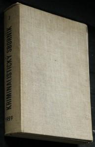 náhled knihy - Kriminalistický sborník 1.-12. číslo (chybí 3, 5. )